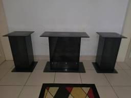 Colunas de Vidro Blindex