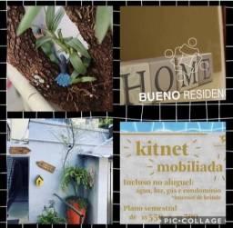Residencial com unidades mobiliada com água e energia já no aluguel