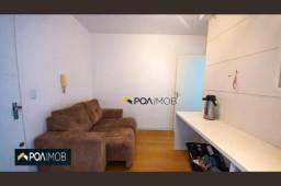 Apartamento com 1 dormitório para alugar, 30 m² por R$ 1.322,00/mês - Petrópolis - Porto A