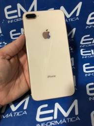 Apple Gold 8 Plus 64GB - Seminovo - Somos Loja Fisica Niterói e Centro do Rio