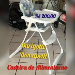 P R O D U T O S E M I N O V O - Cadeira de Alimentacao Burigotto