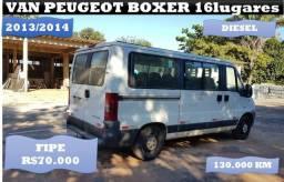 Van Peugeot Boxer 16 Lugares 2014 Diesel 60mil a vista só até dia 15/01 - 2014