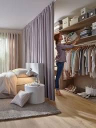 Mão Francesa especial para closet guarda roupa, prateleira e cabideiro Easy Closet
