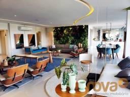 Apartamento à venda com 4 dormitórios em Setor marista, Goiânia cod:NOV235818