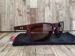 Óculos oakley hoolbrook polarizado*aceito cartao