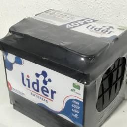 Bateria líder 40 amperes $ 119,99 a base de troca . Com 12 meses de garantia