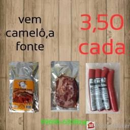 Carne seca ( jaked beef dianteiro) e linguíça mista comprar usado  Belford Roxo