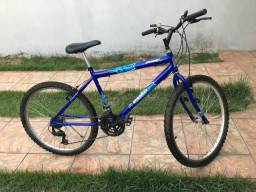 Bicicleta aro 26 com 21 marchas