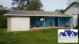 Velleda oferece 5 hectares, casa, açude, galpão, 9 km da RS-040