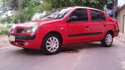 Renault Clio Sed. Authentique 1.0 16v 2005(completo)