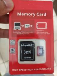 Cartão 64gb Microsd KingStick classe 10