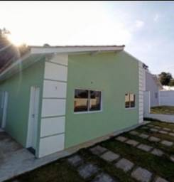 Casas com 2 dorms e 2 vagas de garagem - Pronta para morar, use seu FGTS