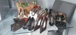 Sapatos e bolsas vários preços