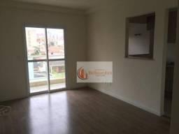 Apartamento com 2 dormitórios para alugar, 64 m² por R$ 1.600/mês - Jardim Bela Vista - Sa