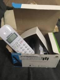 Telefone sem fio com identificador de chamadas