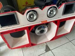 Vendo caixa de som TRIO