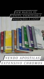 Kit apostilas extensivo chromos