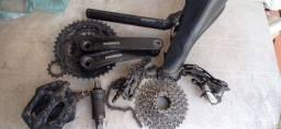 Kit tração bike shimano