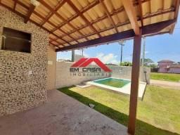 RA35(SP28005)Casa com piscina e dois quartos em São Pedro da Aldeia