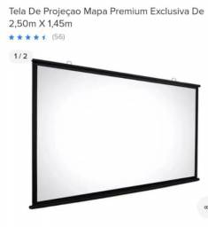 Vendo uma tela de projetor 300 R$