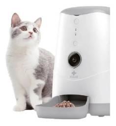 Comedouro Automático Cães Gatos Cachorros Pet C/ Camera App