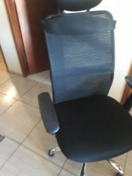 1 cadeira pra escritório,