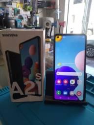 Samsung A21S 64 GB Novo Na Caixa!!!