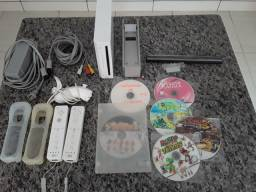 Nintendo Wii destravado.