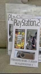 Kit Pendrive de 16 GB com 7 Jogos de Playstation 2