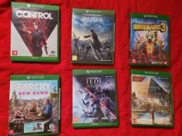 Título do anúncio:  Jogos Xbox one.