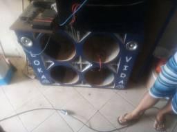 Vendo caixa de som pra SDS 2.7 k