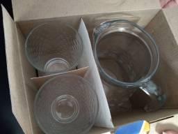 Taça+ 4 copos NADIR (BATUQUE)