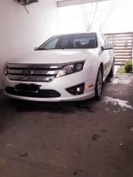 Título do anúncio: Ford Fusion Sel 2.5 ano 2012 branco pérola c/ teto solar
