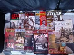 Lote de Revistas de História.