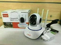 Câmera IP com 3 Antenas Wi-Fi HD KP-CA127-Ipega<br>