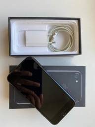 Título do anúncio: iPhone 7 Preto Brilhante 128gb estado de zero