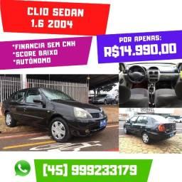 Clio Sedan 1.6 2004 Completo