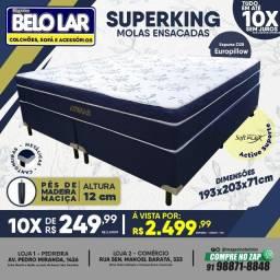 Título do anúncio: Superking Molas Ensacadas