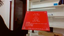 Mesa aquecida para Impressora 3d