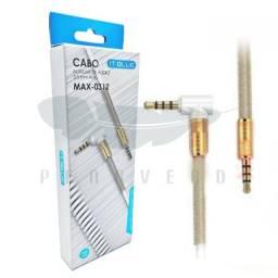 Cabo Auxiliar 3,5mm Aux It-blue Max-0312