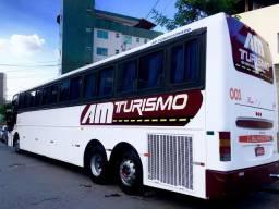 Onibus Volvo B10R Busscar EB 340 - 2001
