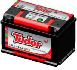 Baterias Tudor, instalada e com garantia