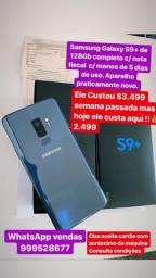 Samsung s9+ de 128gb