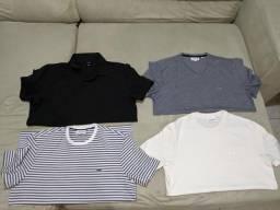 Camisas originais dos EUA 100% novas e sem uso