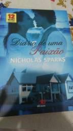 Livro Diário de uma paixão (novo)