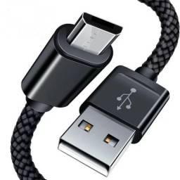 Usado, Cabo Usb Carregador Dados V8 Celular Tablet Universal Reforçado Rápido 2m comprar usado  Serra
