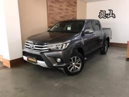Toyota - hilux 2.8 srx 4x4 cabine dupla diesel ano 2017 4 portas automático baixo km - 2017