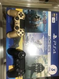 Playstation 4- 2 controles 29 jogos