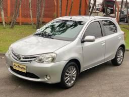 Toyota etios hacth 1.5 xls flex 2013 impecável