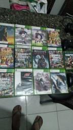 Xbox 360 Super Slim + kinect + jogos e controles